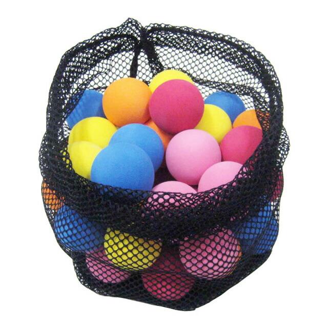 【フィールドフォース】 ミートポイントボール 50個入 練習ボール トス練習 極小ボール カラフル FMB-50