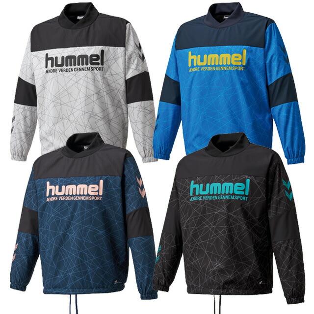 【ヒュンメル】 サッカー フットサル ジュニア ハイブリッド ピステトップ トレーニングウェア 防寒 <br>【hummel2020AW】 <br>HJW4192
