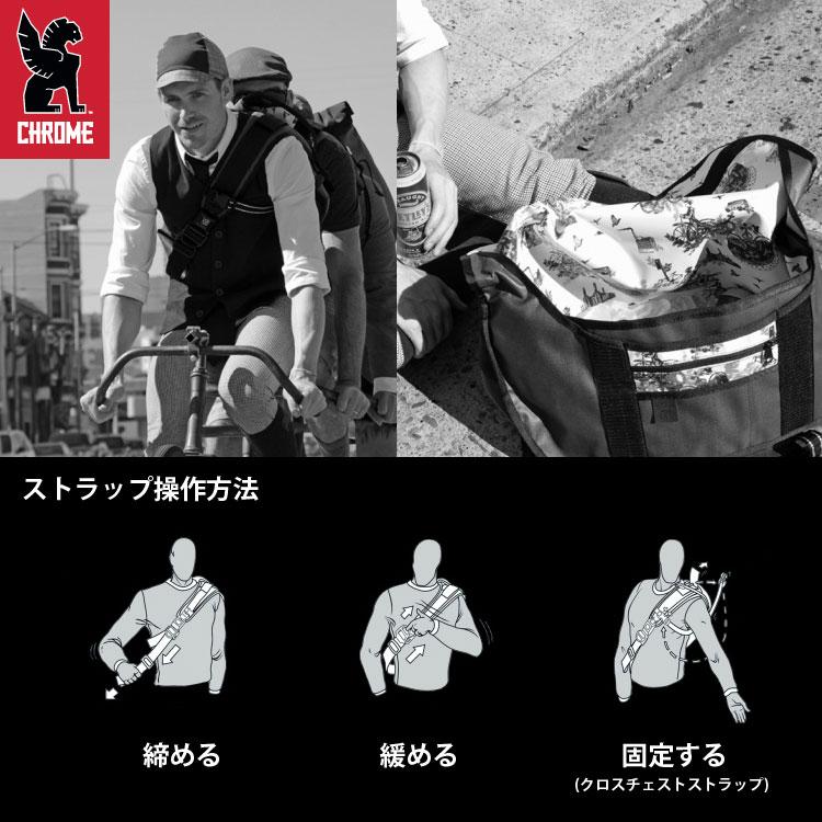 CHROME/クローム/CITIZEN/メッセンジャーバッグ/ミディアム/ストラップ