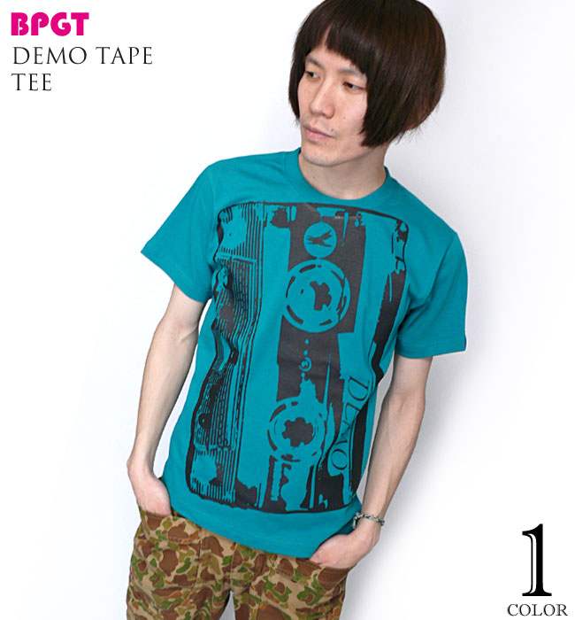 Demo Tape(デモテープ)Tシャツ - BPGT - バンビプラネットグラフィックTシャツ -A-( Rock ロックTシャツ バンドTシャツ オリジナル )