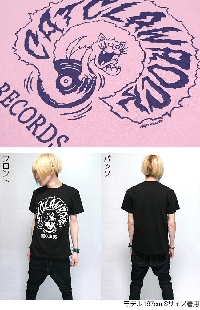 キャット クロー ロック Tシャツ コラボTシャツ バンドTシャツ 半袖 メンズ レディース ユニセックス ファッション