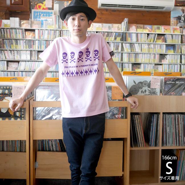 EDST-ゴースト5 Tシャツ 半袖 ガイコツ ドクロ 髑髏 パンク ロックTシャツ バンドTシャツ かっこいかわいい アメカジ カジュアル ファッション メンズ レディース ユニセックス 大きいサイズ Tシャツ屋さんバンビ  XXS XS S M Lサイズ