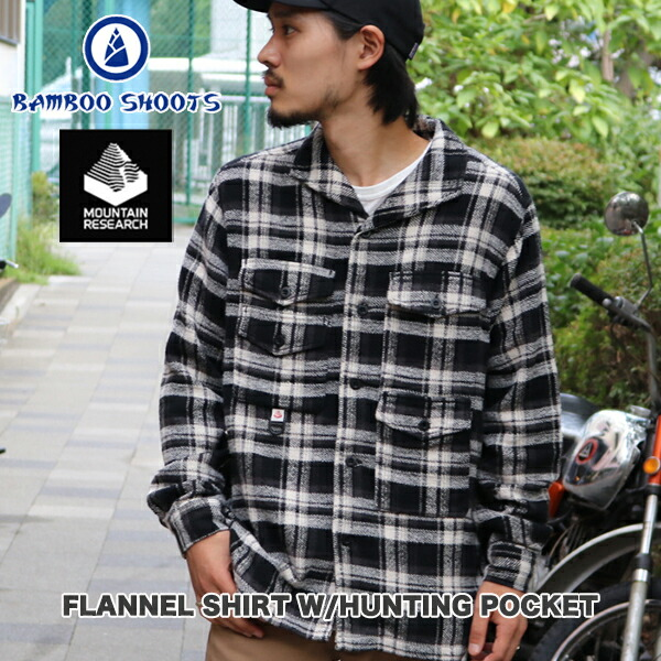 FLANNEL SHIRT W/HUNTING POCKET