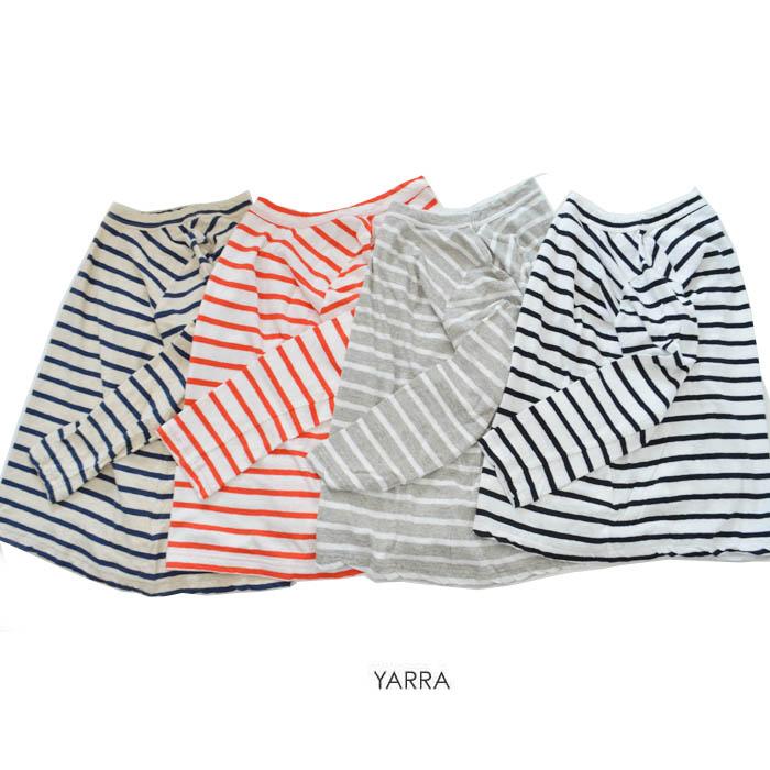 【2019春夏|2019SS】YARRA(ヤラ)粗挽きリネン九分袖BD【YR-00-033B】【ネコポス便可能】