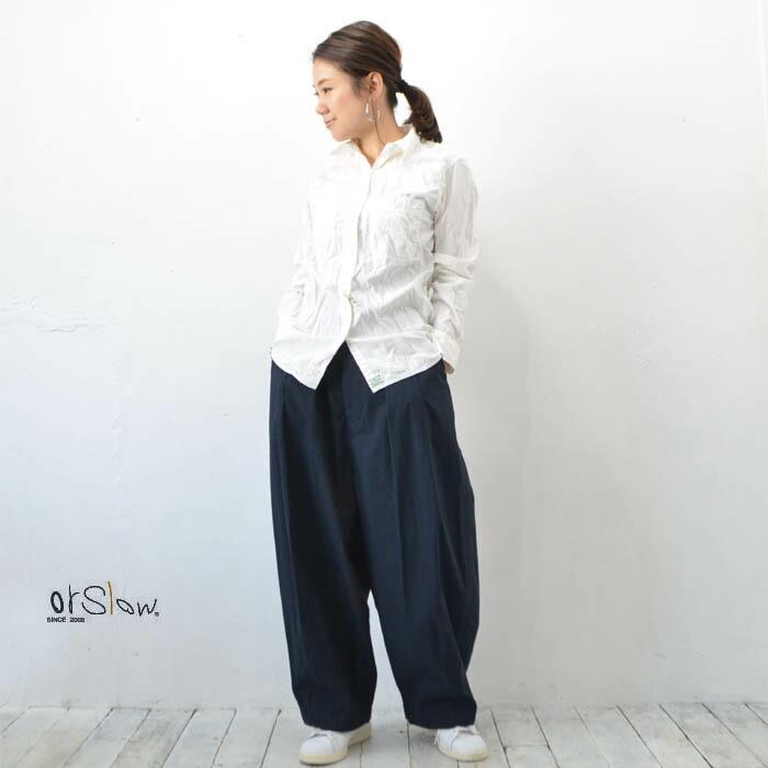 orslow(オアスロウ)Shambray Shirt(シャンブレーシャツ) White【00-8070-69】