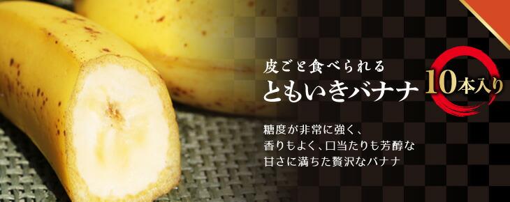ともいきバナナ 10本入り