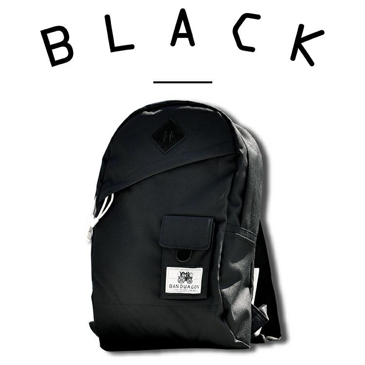 2TONEBACKPACKカラーバリエーション BLACKブラック