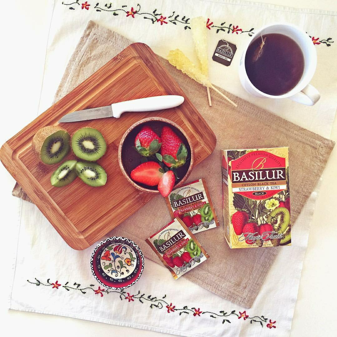 ストロベリー&キウイ紅茶