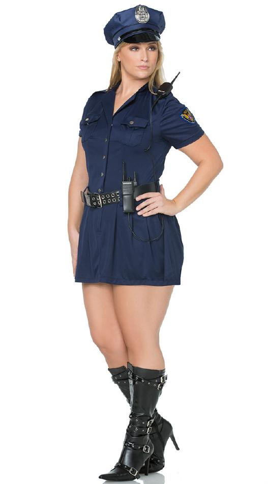 d0fdccfe2af60 NY警官のコスチューム4点セット 大きいサイズ  コスプレ衣装 (二次会、結婚式、仮装、パーティー、宴会、舞台、演劇、ハロウィン) 女性 大人用  ハロウィン 仮装 ...