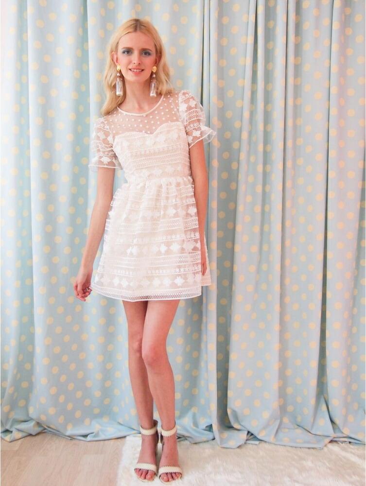 fda006322fdac  楽天市場 花柄ワンピース 可愛い ドレス ガーリーファッション レディース通販 シフォン ハンドメイド LOVE ME TENDER タイブランド :Basqueバスク