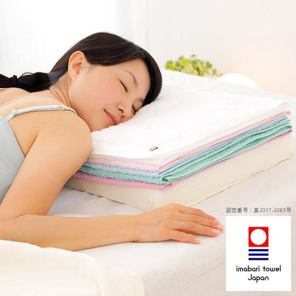 【送料無料】タオルまくら「今治バスタオルピロー(バスタオル5枚×ピロー)」バスタオル枕