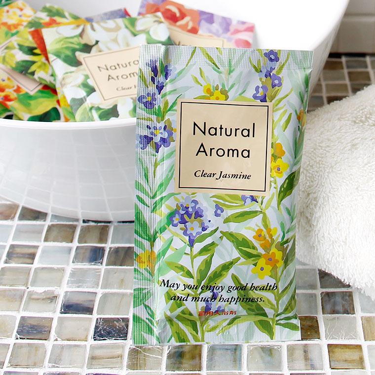 入浴剤|薬用入浴剤「ナチュラルアロマ」クリアジャスミン