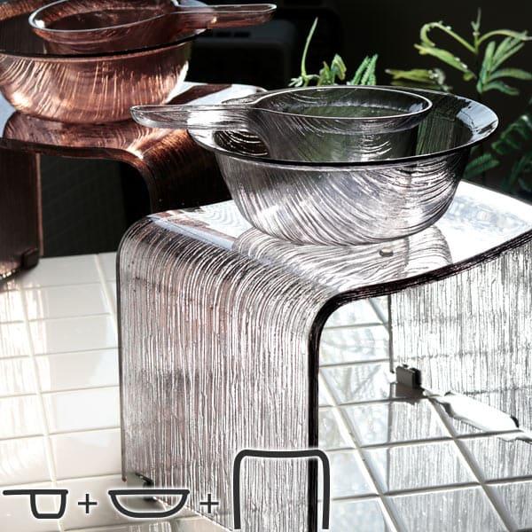 バスチェア「コルソ」バスチェア&洗面器&手桶3点セット