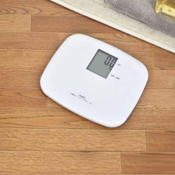 体重計「ドリテック(DRETEC)」ボディスケール「クラベール」