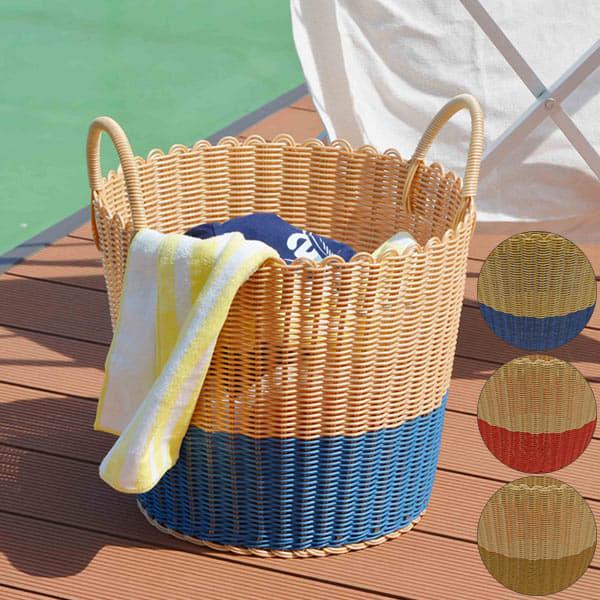 バスケット「丸洗いできるWashableBasket」