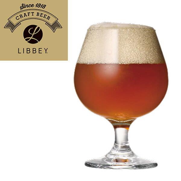 ビールグラス「LIBBEY(リビー)クラフトビア」エンバシーラウンド