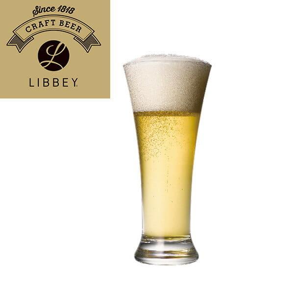 ビールグラス「LIBBEY(リビー)クラフトビア」フレアピルスナー