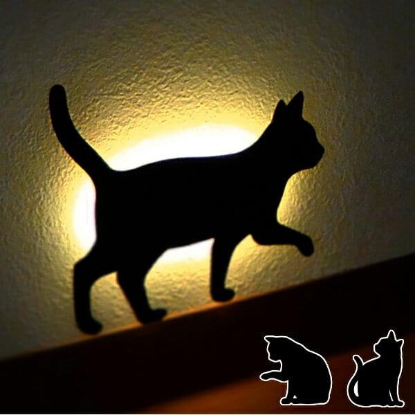 ライト「CatWallLight」LEDウォールライト