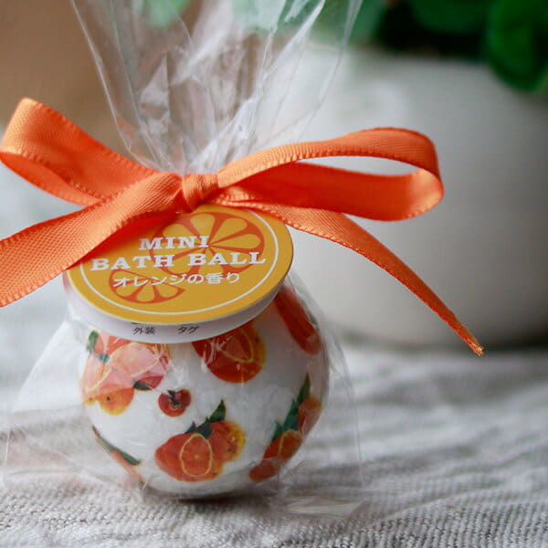 入浴剤「ミニバスボール」オレンジの香り(オレンジ)