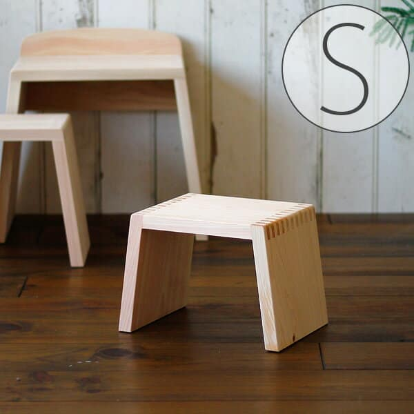 バスチェアー/とちぎ桧椅子(S)