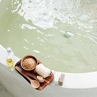 朝のお風呂