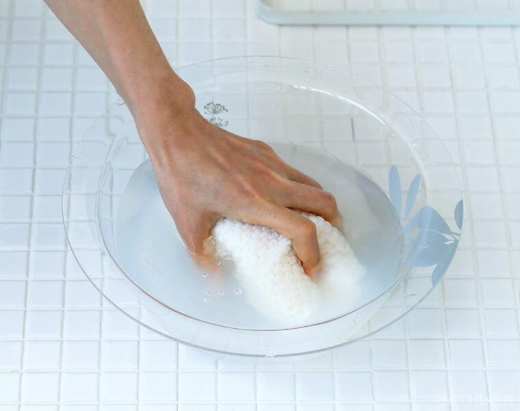 洗剤水を作る