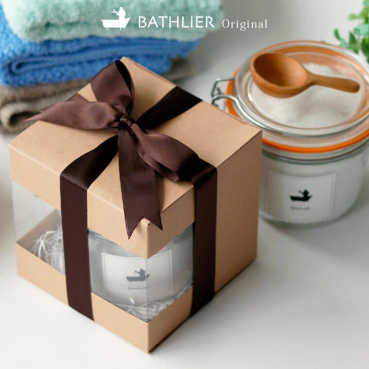 ギフトボックス 入浴剤 エプソムソルト/ジャータイプ
