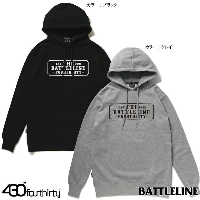BATTLE LINE (バトルライン) x 430 / FOURTHIRTY (フォーサーティー)