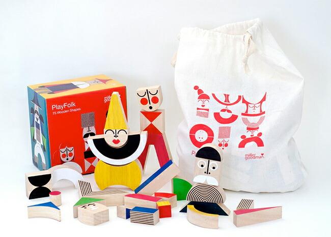miller goodman, ミラーグッドマン, 積み木, 木製玩具, 知育玩具, PlayFolk
