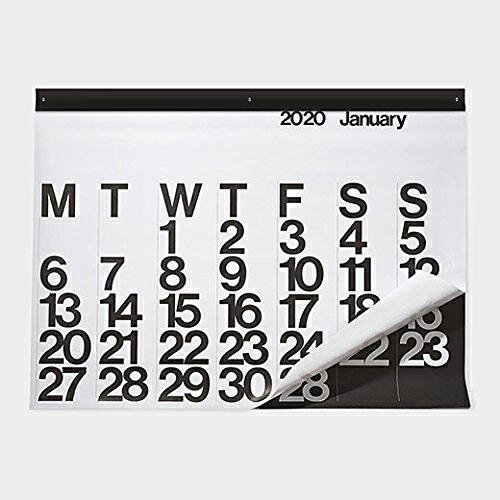 stendig calendar ステンディグカレンダー モノトーン 白黒