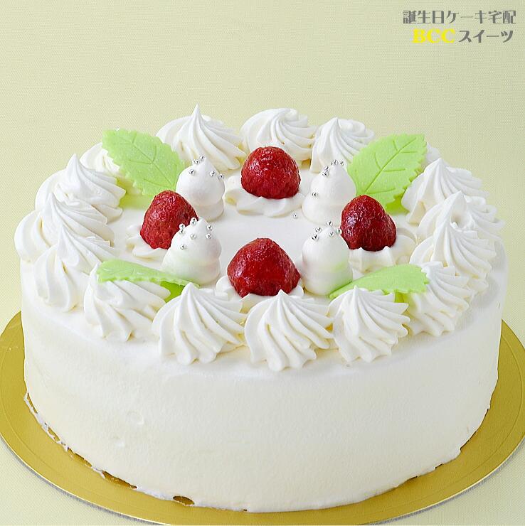 1 デコレーションケーキ 写真 バースデーケーキ 生クリームケーキ