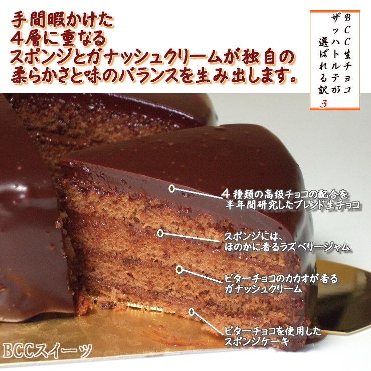 4 チョコケーキ・バースデーケーキ