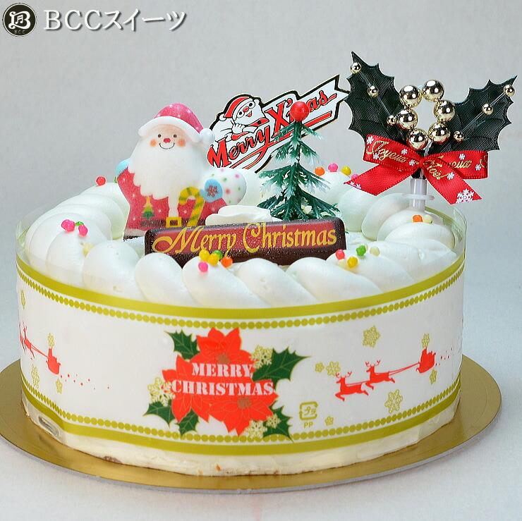 クリスマスケーキ生クリームケーキ5号