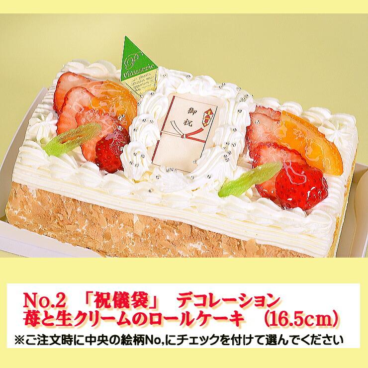 お祝いケーキの注文方法