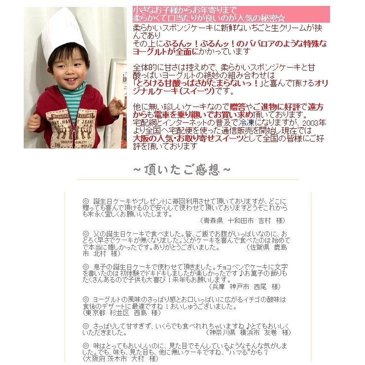 大阪ヨーグルトケーキ説明と感想