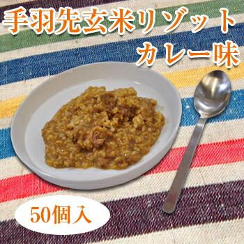 魚藤の手羽先玄米リゾット・ミニ[カレー味]