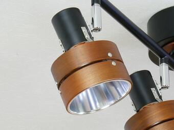 シーリングライト 4灯 サレディア