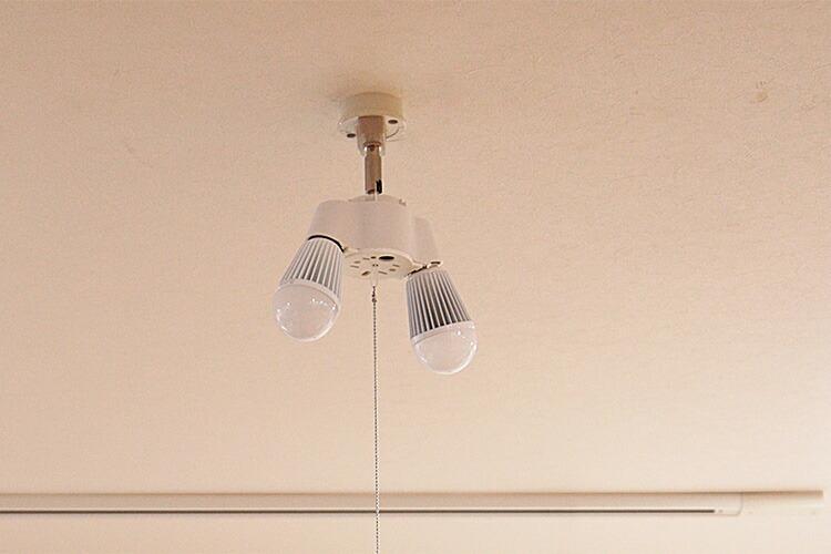 シーリングライト シンプルソケット 2灯