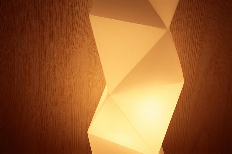 フロアライト プチヴェレ 間接照明
