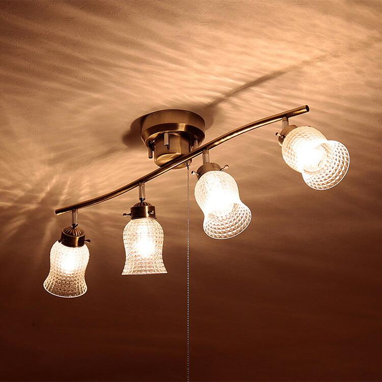 シーリングライト 4灯 ラーレ