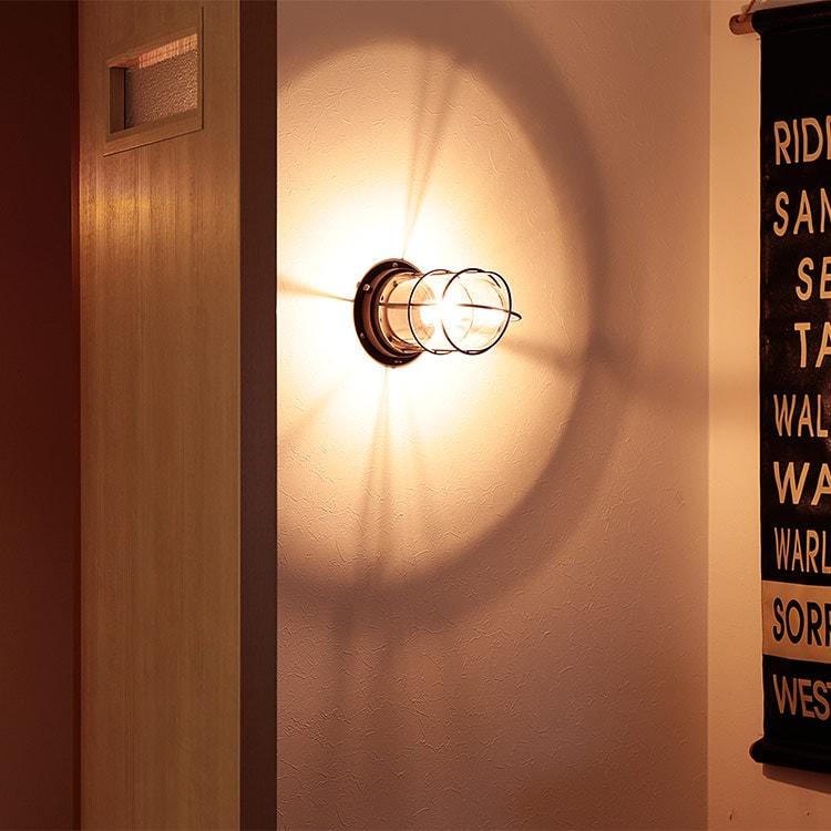 ブラケットライト 壁掛け 照明 ウォールライト バルコ 船舶 マリンランプ