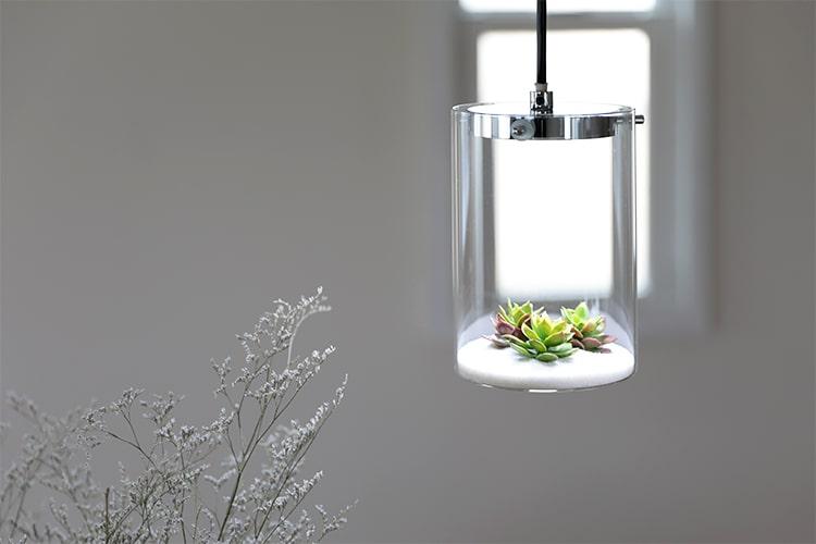 ラコルト 3灯 ガラスペンダントライト メリッタ