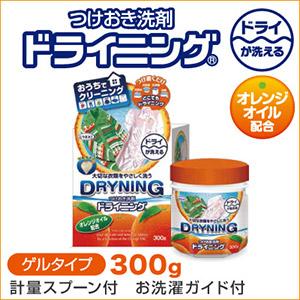 つけおき洗剤 ドライニング 300g
