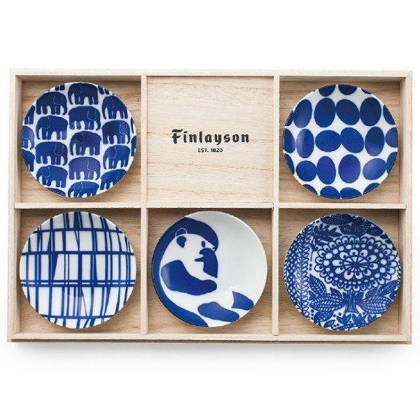 フィンレイソン シニネン 豆皿揃 FIN40-127H