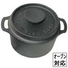 盛栄堂 ココット(キャセロール) ラウンド F-417 鉄製