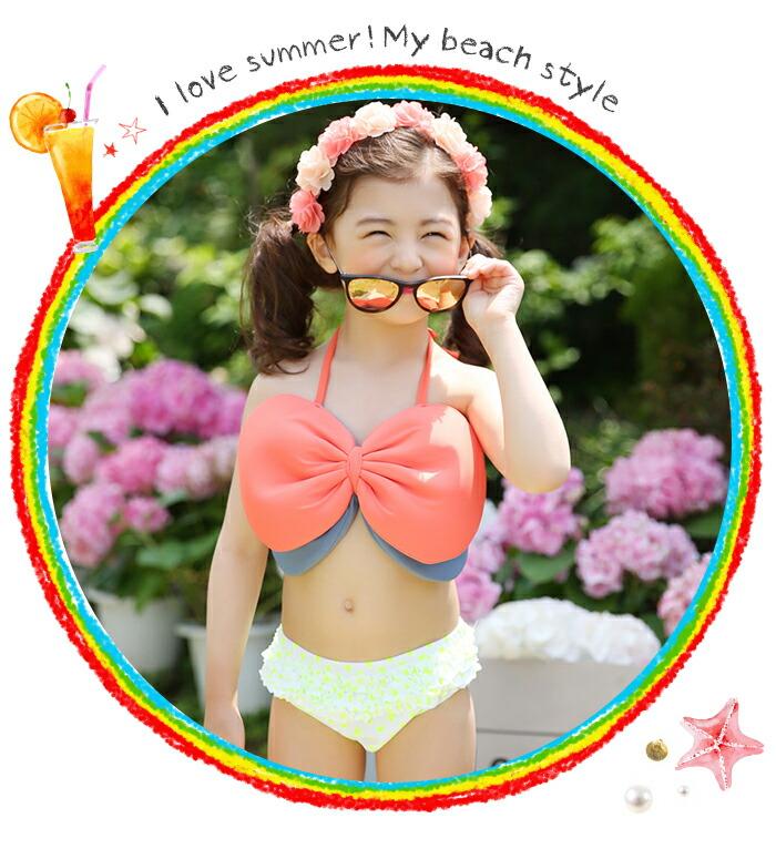 Beauty Show  라쿠텐 일본: 키즈 수영복 여자 아이 ...