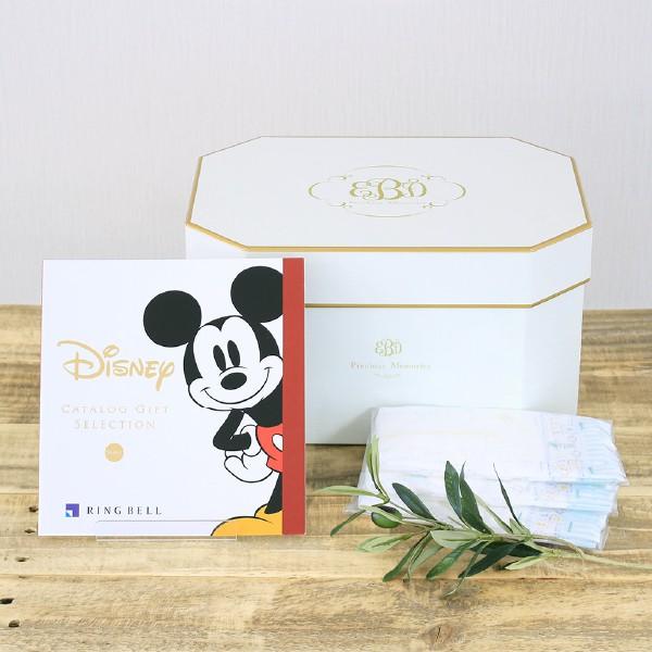 出産祝いギフト カタログギフト (ディズニー 3600円コース)+ おむつセット 送料無料