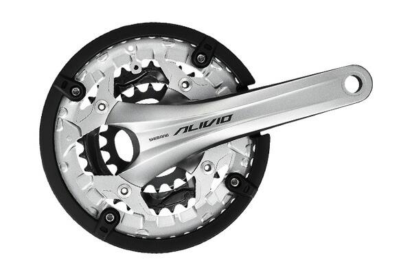 Shimano ALIVIO FC-T4060 44-32-22T Black 175mm Crankset EFCT4060EX422CL