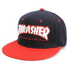 THRASHER スラッシャー Bebro ビブロ 別注モデル フリーサイズ KID'S 子供 キッズ 帽子 キャップ 別注 オリジナル ベースボールキャップ