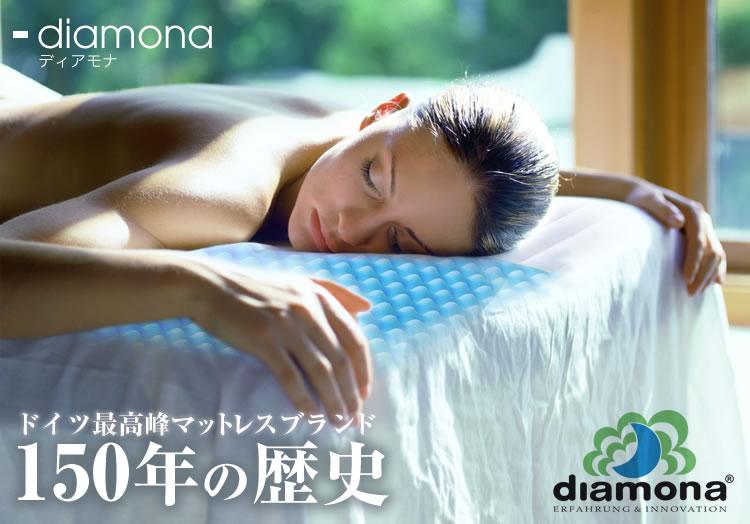 ディアモナのブランドイメージはその先進性にあります